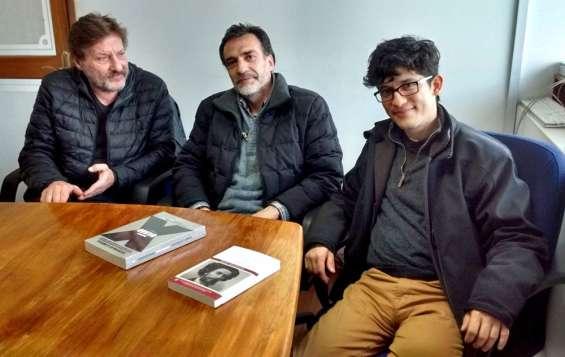 De izquierda a derecha: Alejandro Madrid, Álvaro García San Martín y Rafael Mondragón.