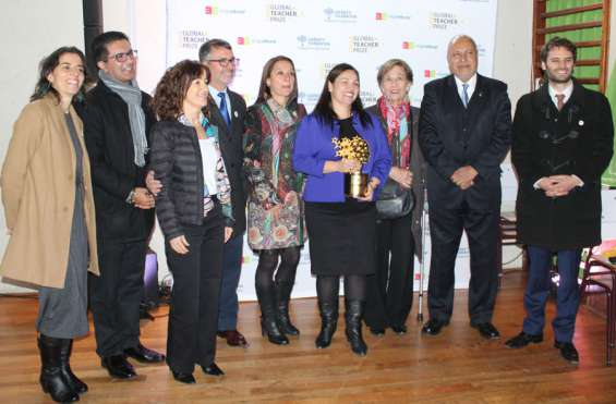 Rector Jaime Espinosa integra jurado en tercera versión del Global Teacher Prize (GTP) Chile 2018